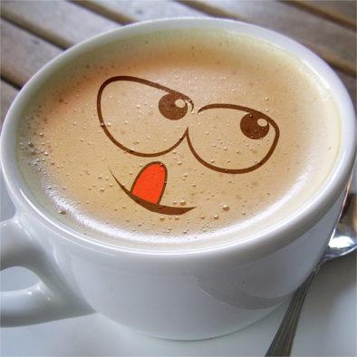café au lait de meres allaitantes