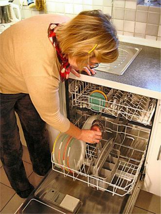 vider le lave vaisselle