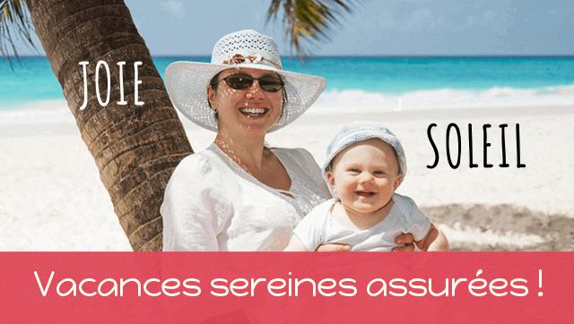 vacances avec des enfants en bas-age conseils