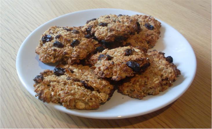 recette de cookies véganes sans sucre ajouté